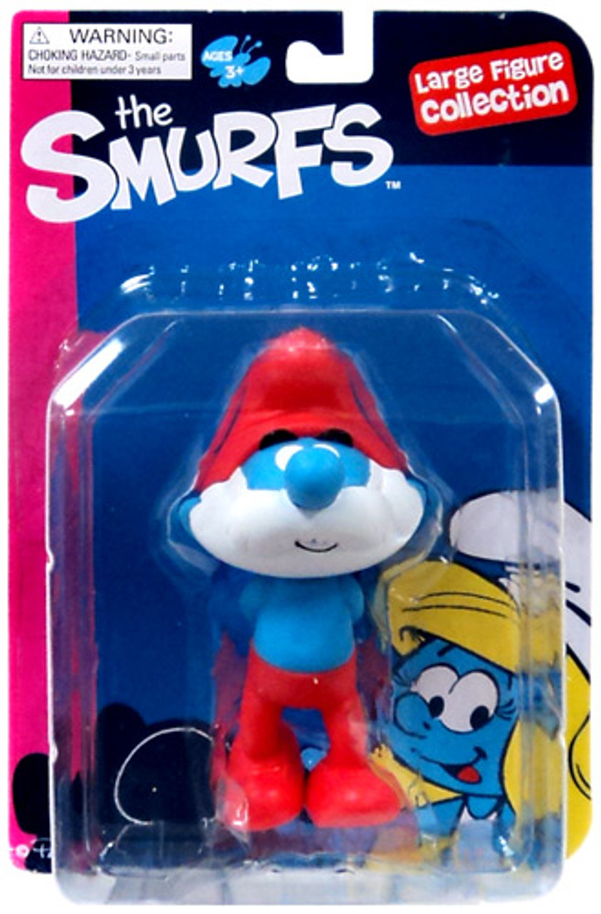 The Smurfs Papa Smurf Action Figure