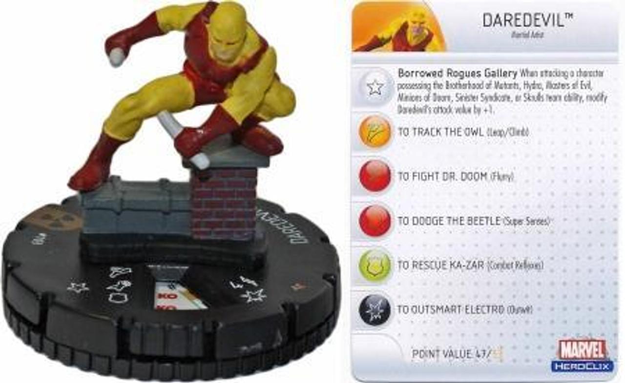 Marvel HeroClix Incredible Hulk LE Daredevil #103