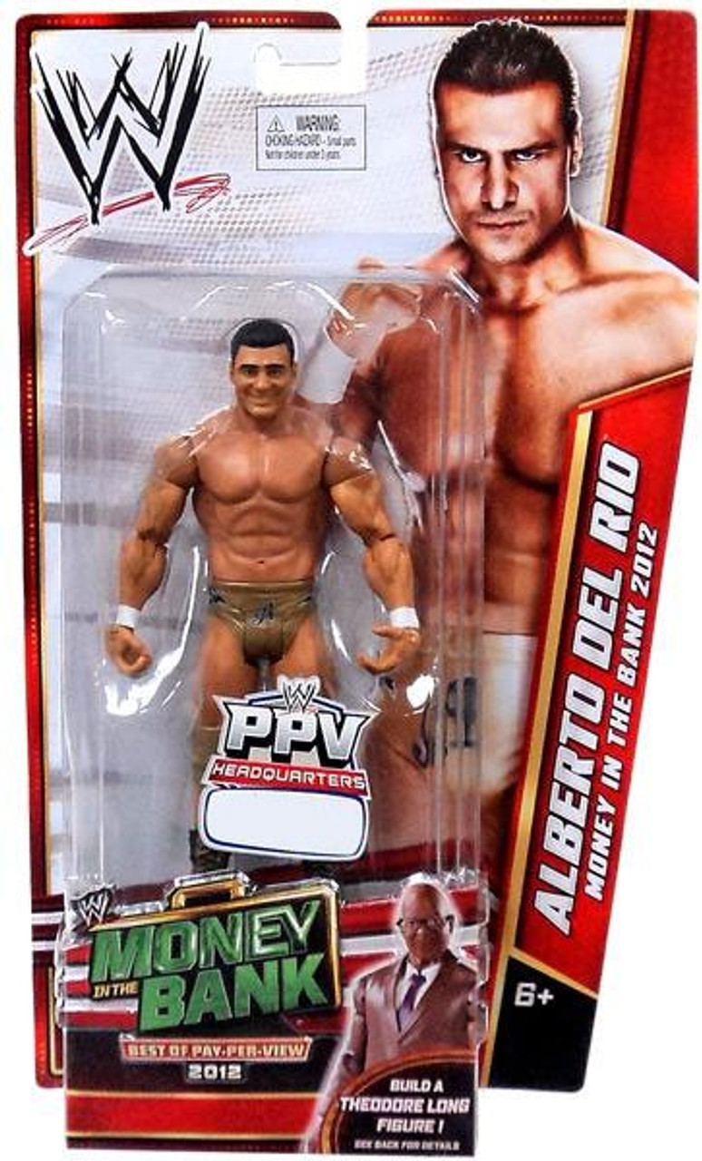 WWE Wrestling Best of PPV 2012 Alberto Del Rio Exclusive Action Figure