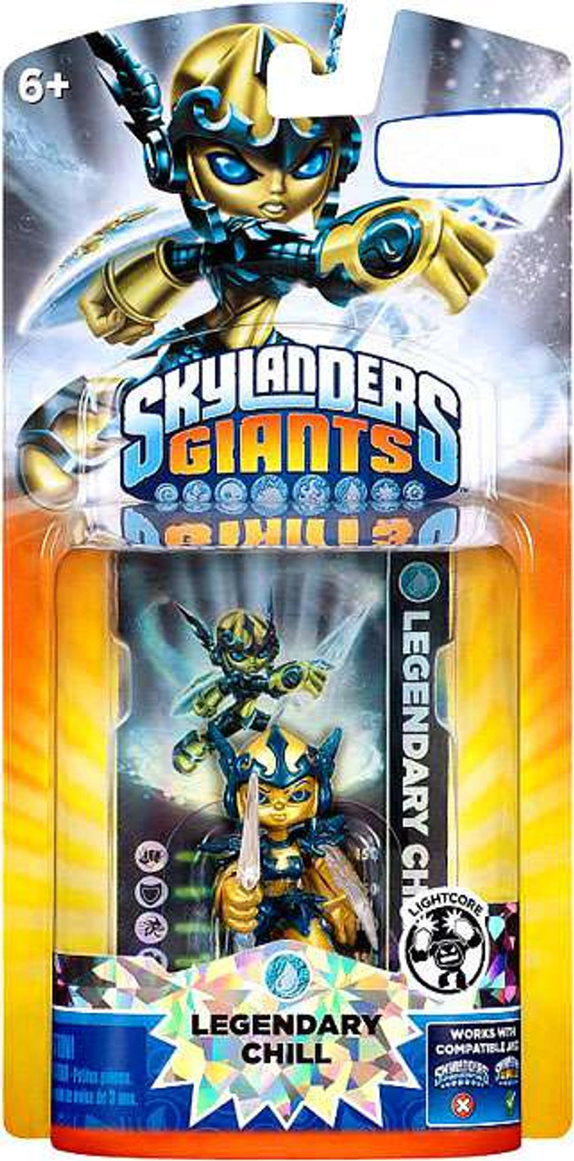 Skylanders Giants Lightcore Legendary Chill Figure Pack