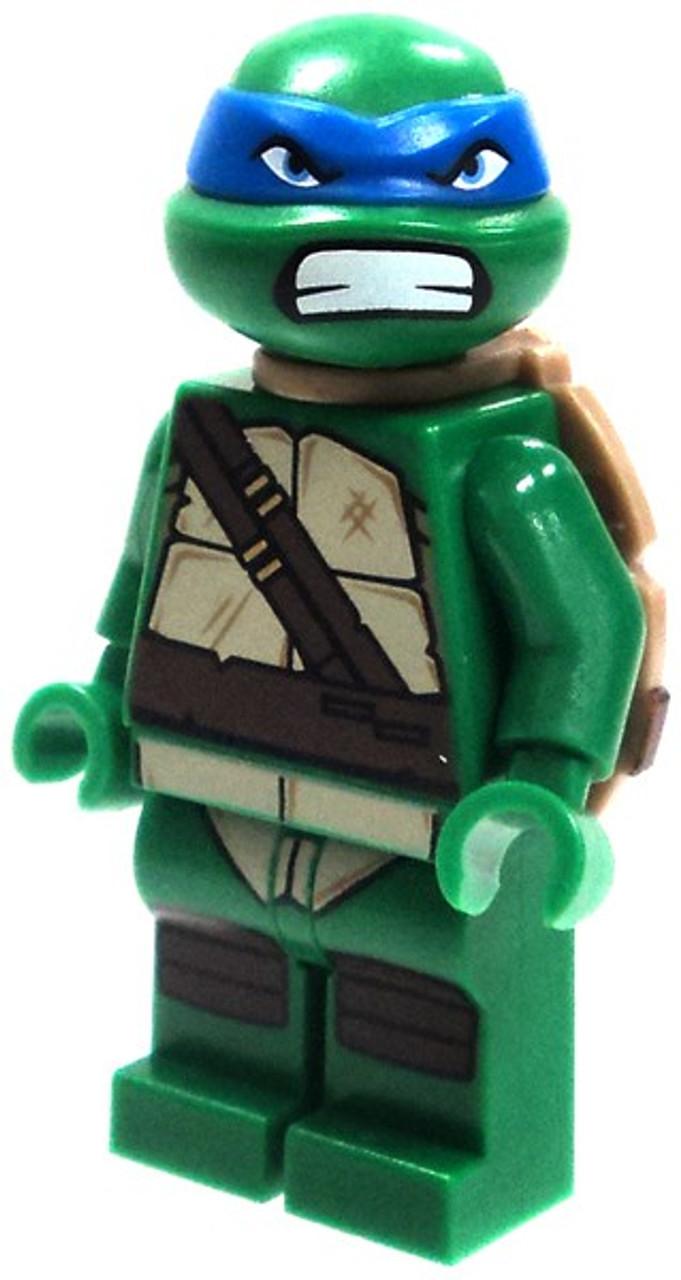 LEGO Teenage Mutant Ninja Turtles Loose Leonardo with Angry Face Minifigure [Loose]