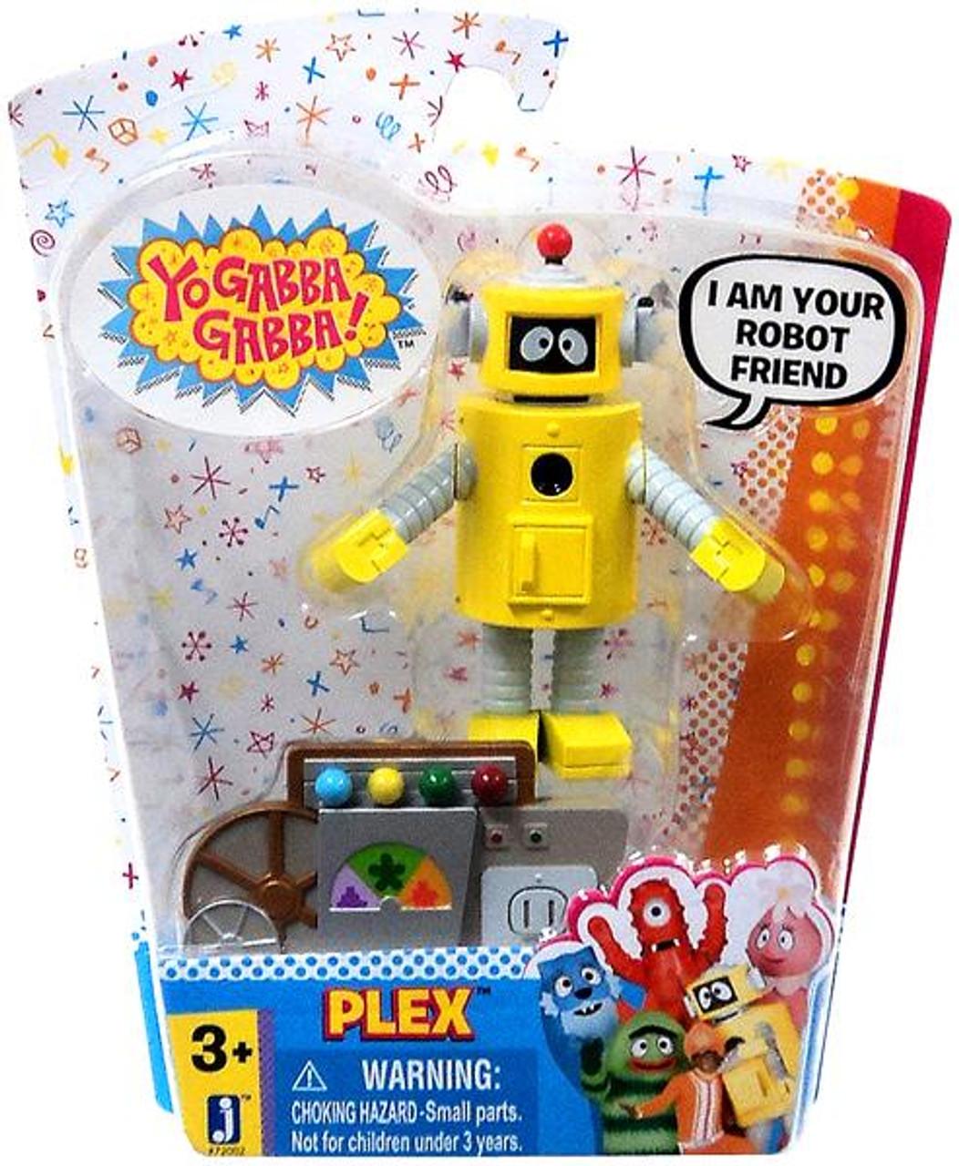 Yo Gabba Gabba Plex Action Figure