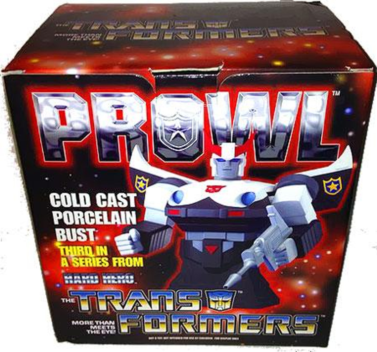 Transformers Statues & Busts Prowl Bust