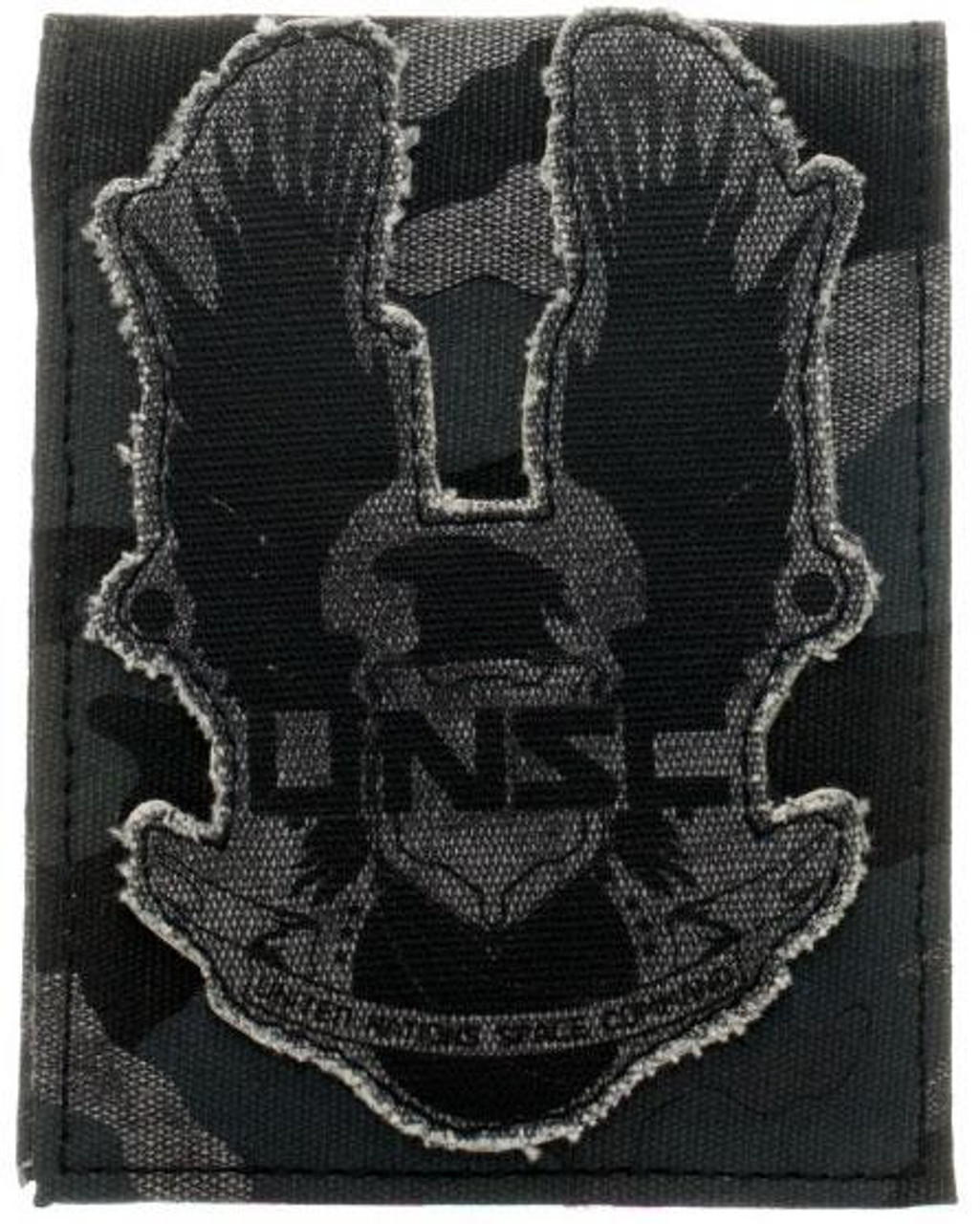 Halo 4 UNSC Distressed Canvas Wallet [Black, Bi-Fold]