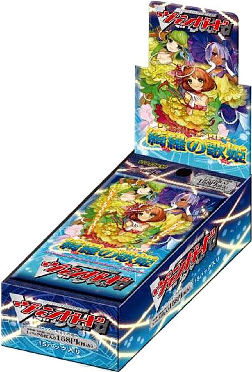 Cardfight Vanguard Dazzling Divas Vol. 6 Extra Booster Box [15 Packs]
