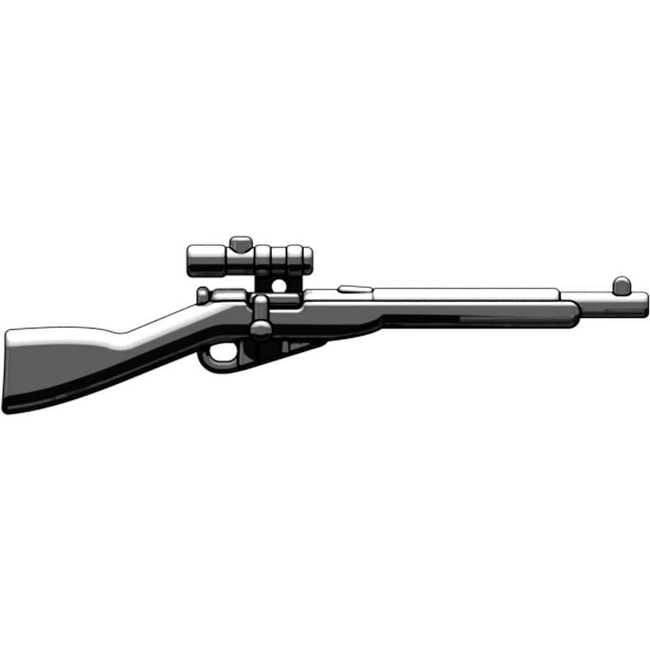 BrickArms Weapons Mosin Nagant with Scope 2.5-Inch [Black]