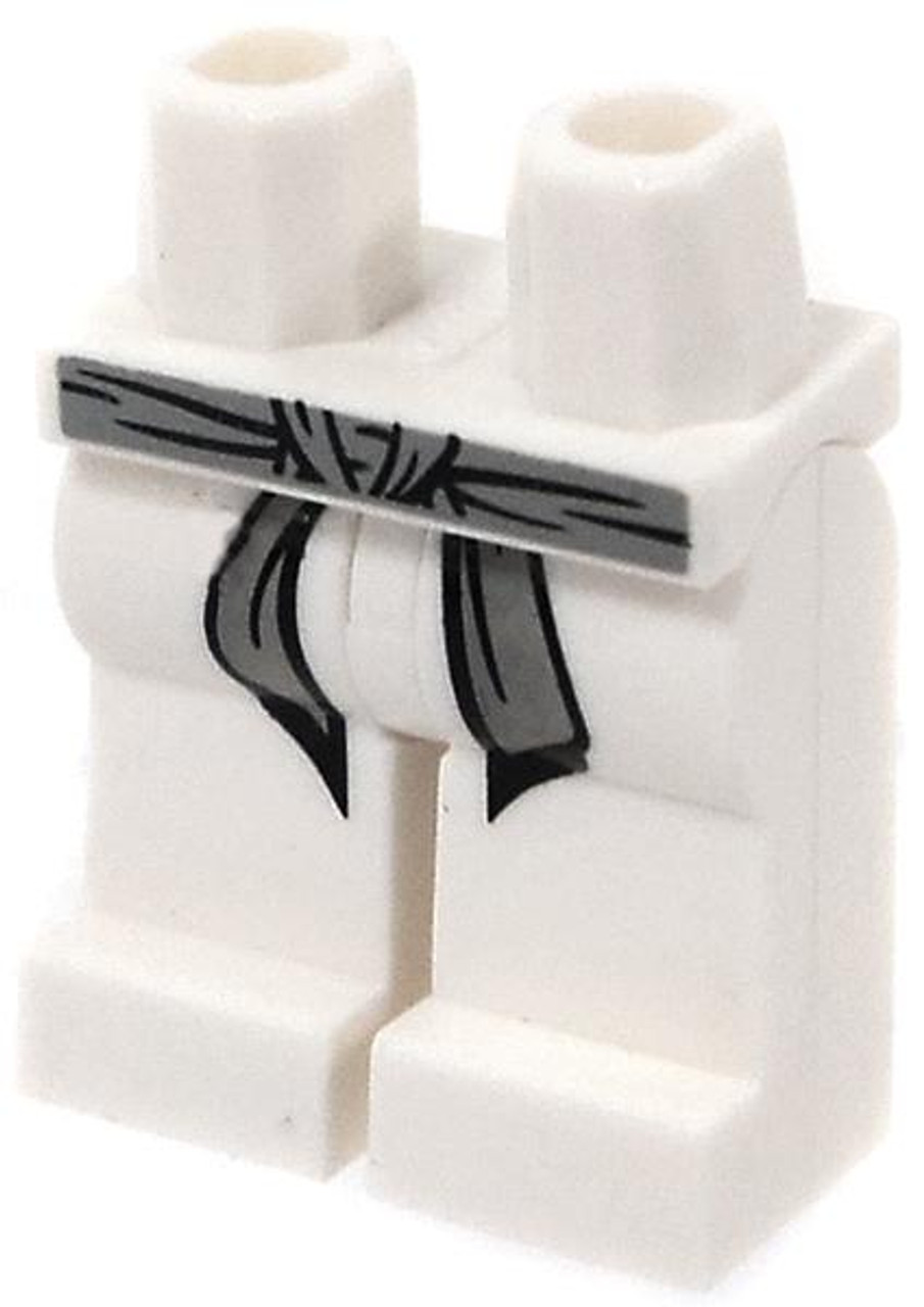 LEGO Star Wars White Hips and Legs with Gray Belt and Black Markings Loose Legs [Loose]