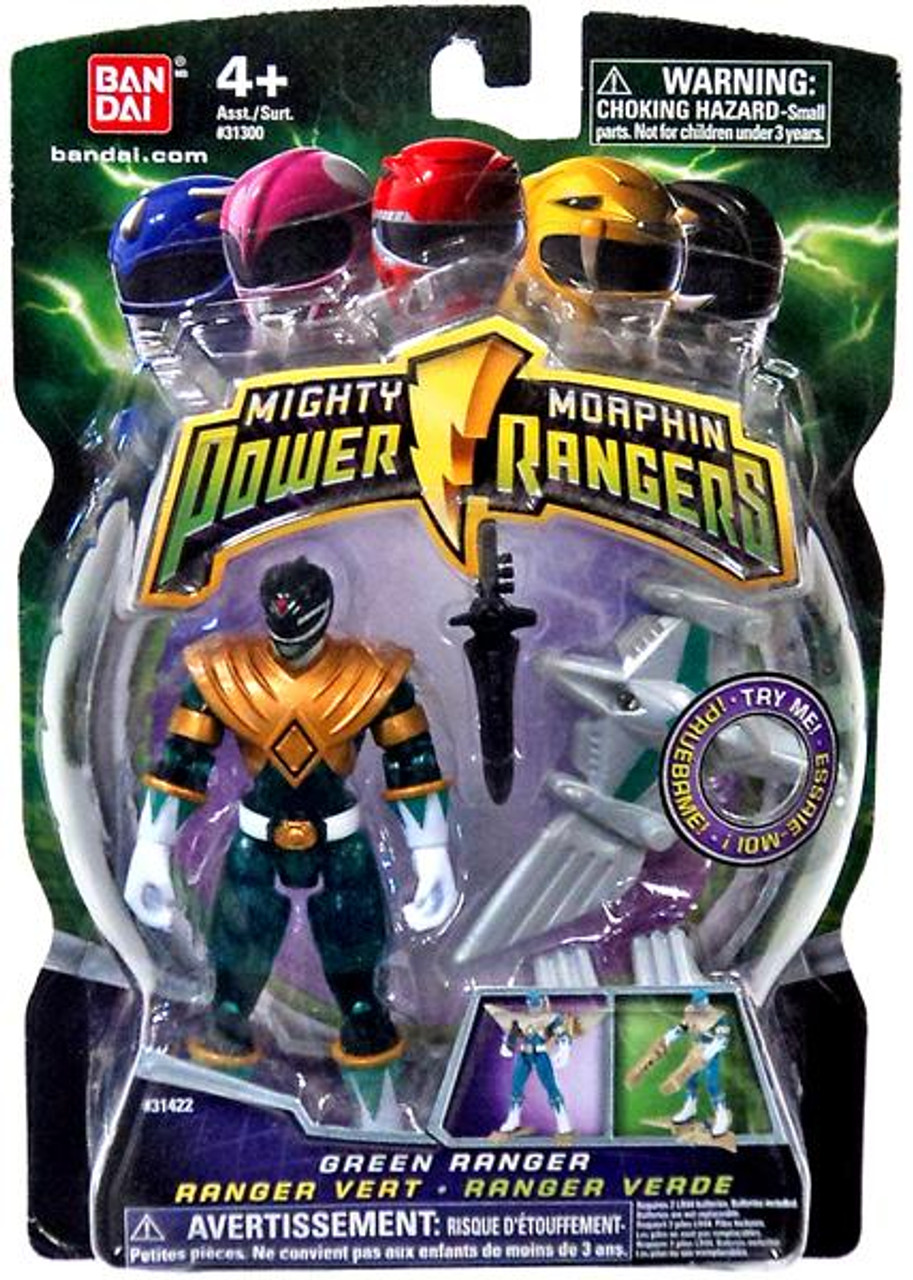 Power Rangers Mighty Morphin (2009) Translucent Green Ranger Action Figure