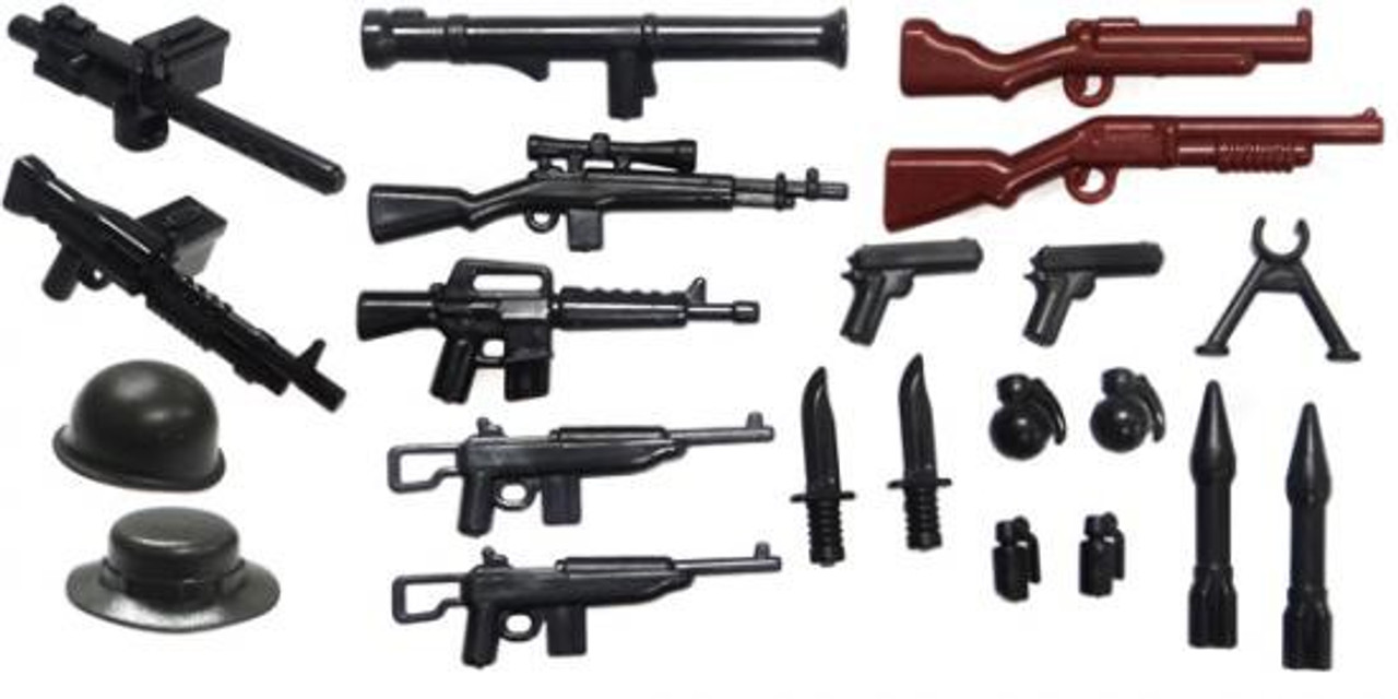 BrickArms Vietnam 2.5-Inch Weapons Pack