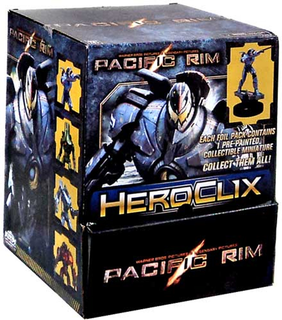 HeroClix Pacific Rim Gravity Feed Box