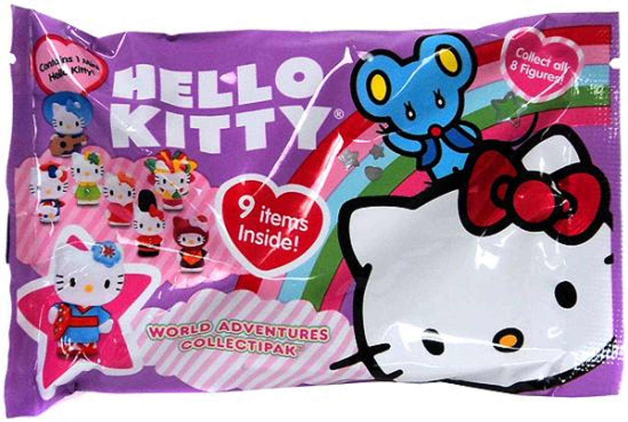 Hello Kitty World Adventures Collectipak Sticker Pack [Purple]