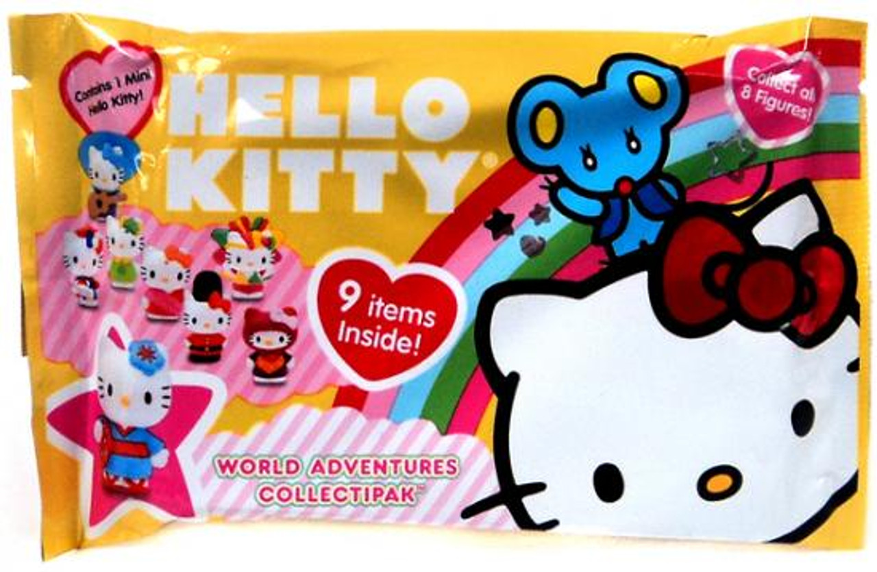 Hello Kitty World Adventures Collectipak Sticker Pack [Yellow]