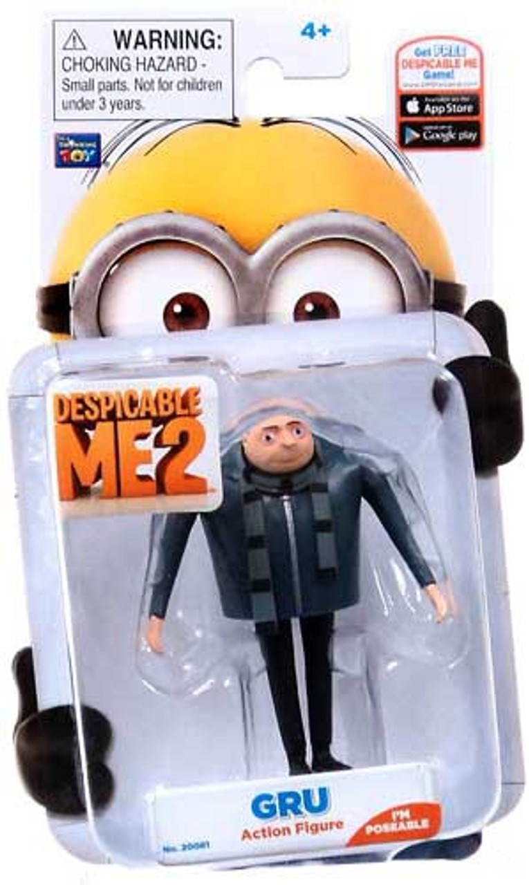 Despicable Me 2 Gru Action Figure