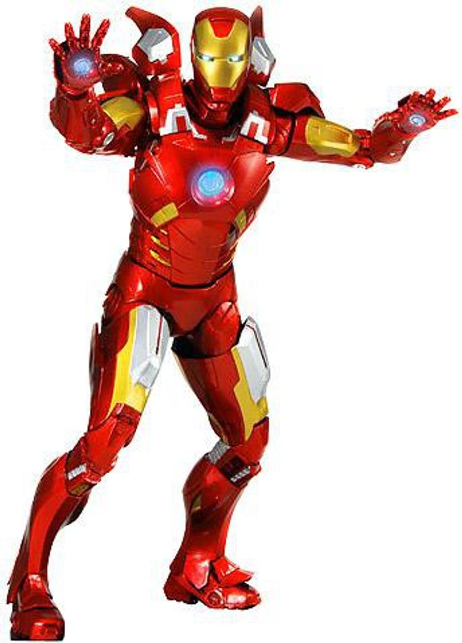 NECA Marvel Avengers Quarter Scale Iron Man Action Figure