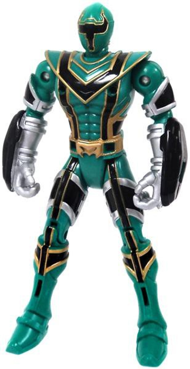 Power Rangers Mystic Force Legendary Battlized Green Ranger to Green Mystic Titan Action Figure [Loose]