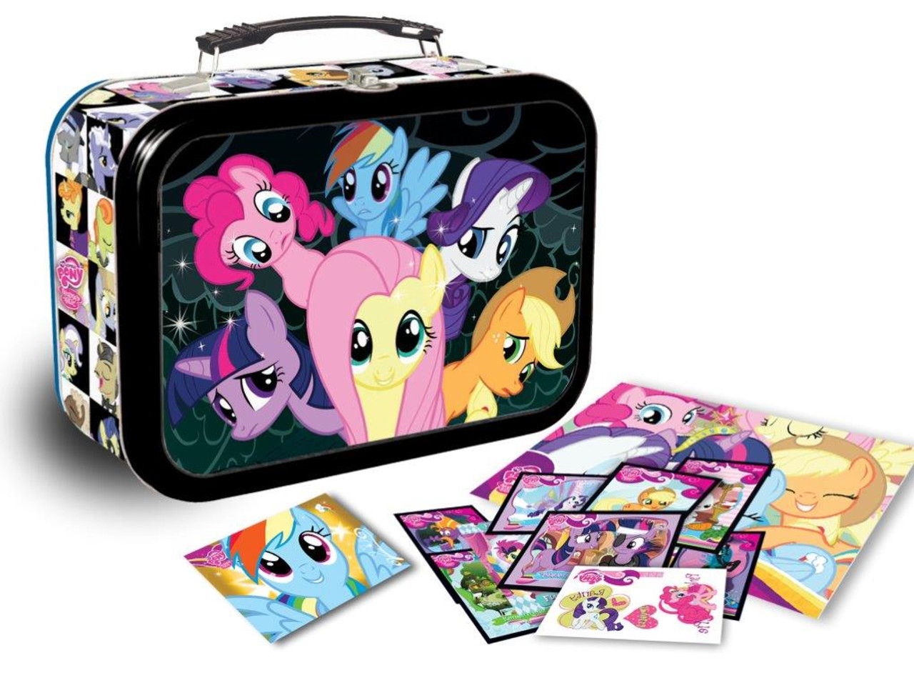 My Little Pony Friendship is Magic Trading Cards Lunchbox Tin Exclusive