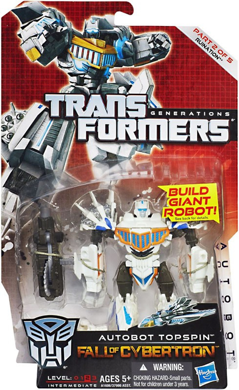 Transformers Generations Fall of Cybertron Topspin Deluxe Action Figure