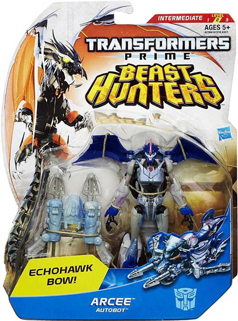 Transformers Prime Beast Hunters Arcee Deluxe Action Figure