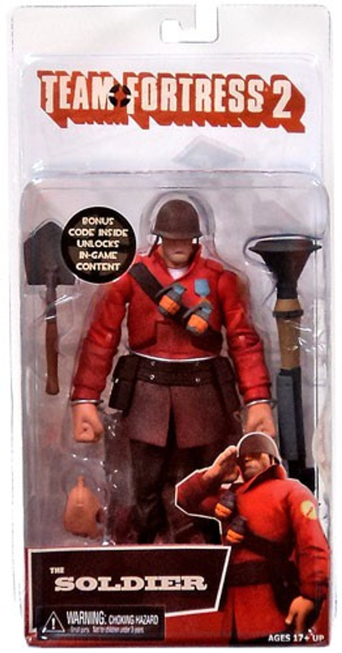 NECA Team Fortress 2 RED Series 2 The Soldier Action Figure