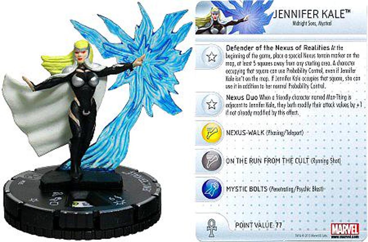 Marvel HeroClix Amazing Spider-Man Rare Jennifer Kale #035