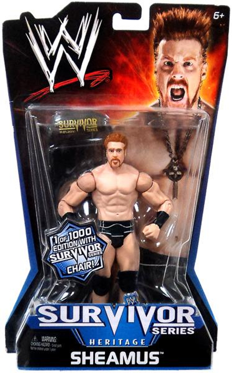 WWE Wrestling Pay Per View Series 11 Survivor Series Heritage Sheamus Action Figure [With Chair]