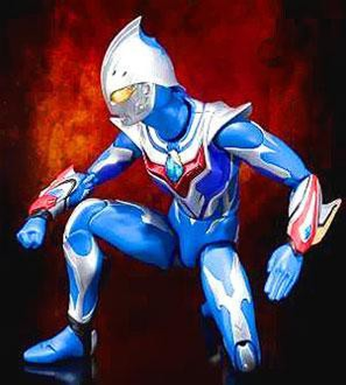 Ultraman Ultra-Act Nexus Junis Blue Action Figure