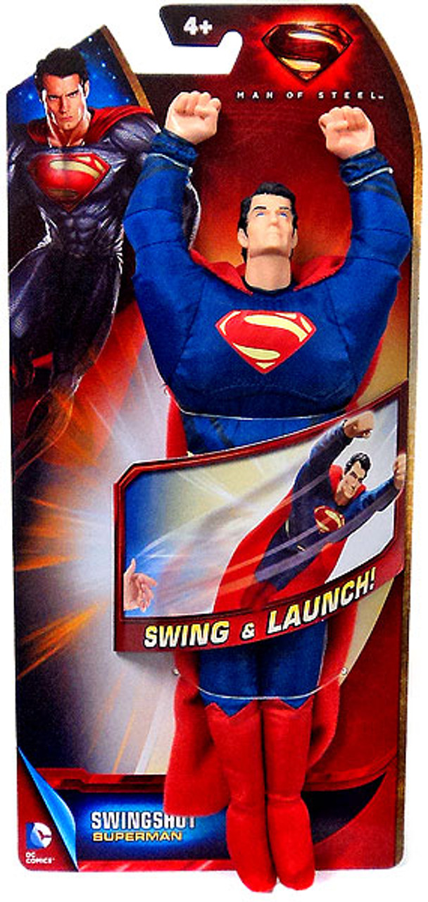 Man of Steel Swing & Launch Superman Figure [Swingshot]