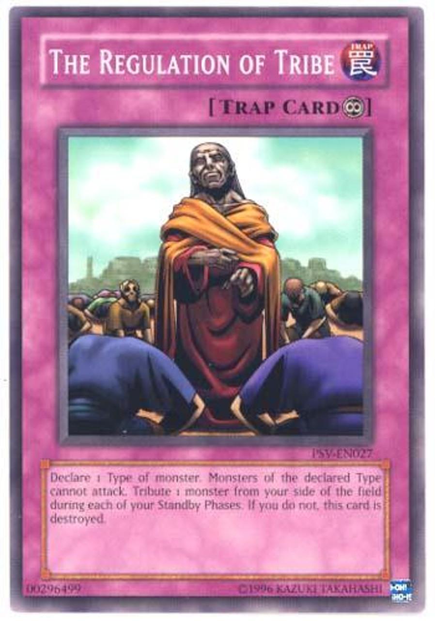 YuGiOh Pharaoh's Servant Common The Regulation of Tribe PSV-027