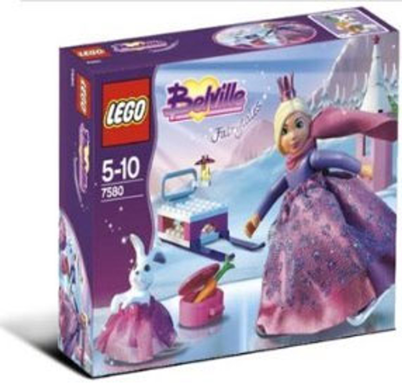 LEGO Belville Skating Princess Set #7580 [Damaged Package]