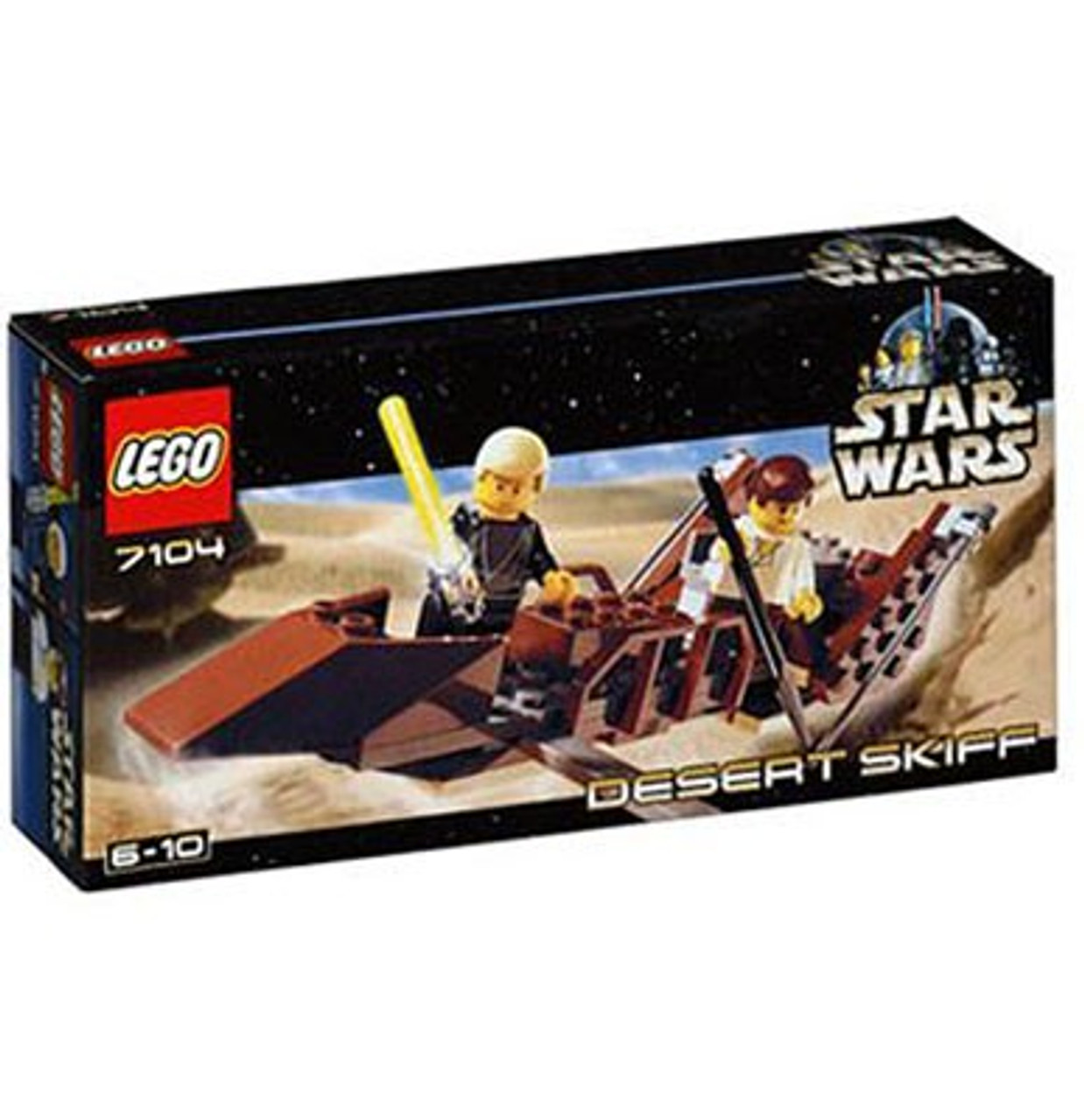 LEGO Star Wars Return of the Jedi Desert Skiff Mini Set #7104 [New]