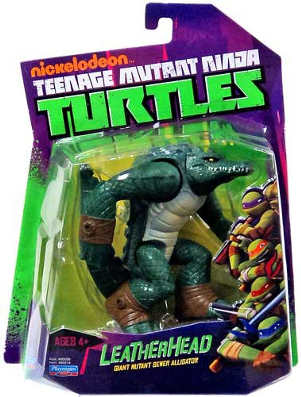 Teenage Mutant Ninja Turtles Nickelodeon Leatherhead Action Figure