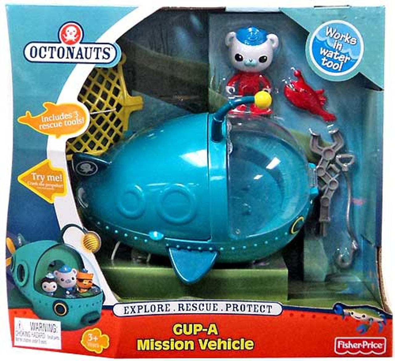 Fisher Price Octonauts Mission Vehicle GUP-A Playset