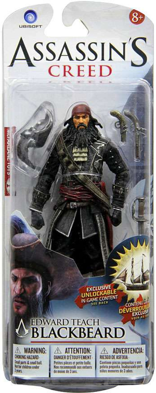 McFarlane Toys Assassin's Creed IV Black Flag Edward Teach Blackbeard Exclusive Action Figure
