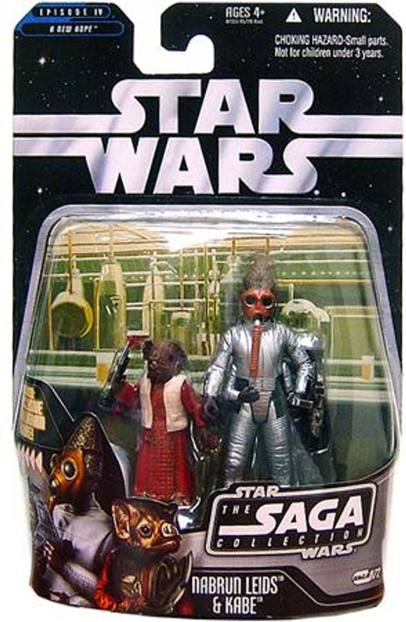 Star Wars A New Hope Saga Collection 2006 Nabrun Leids & Kade Action Figure 2-Pack #72