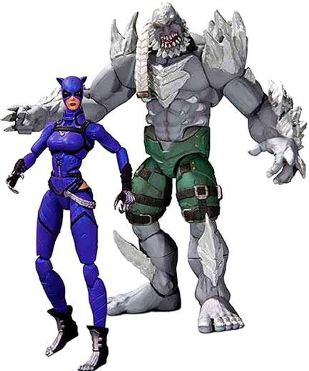 DC Injustice: Gods Among Us Doomsday & Catwoman Action Figure 2-Pack