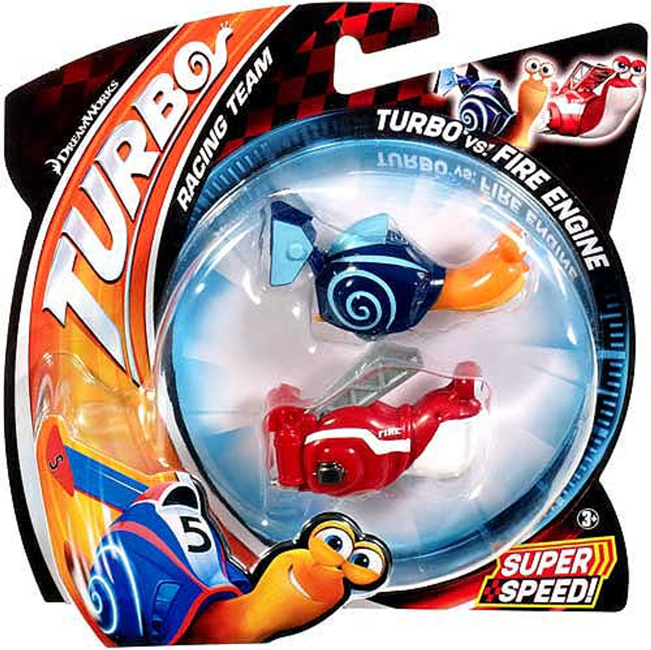 Turbo vs Fire Engine Vehicle 2-Pack