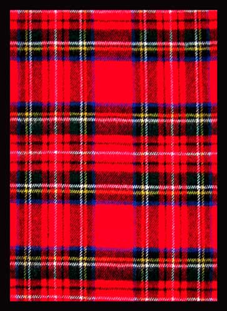 Card Supplies Tartan Plaid Standard Card Sleeves [50 Count]
