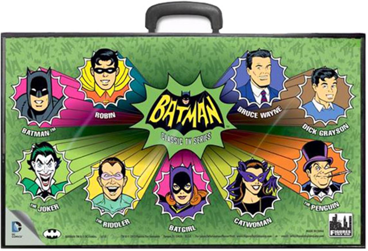 Batman Classic TV Series TV Series Cartoon Heads Action Figure Case
