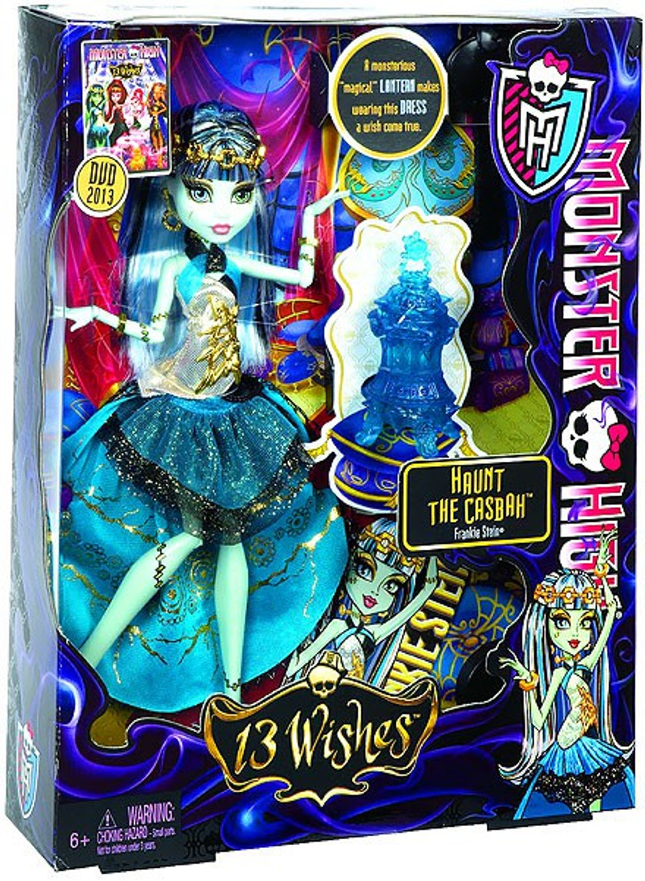 Monster High 13 Wishes Frankie Stein 10.5-Inch Doll [Haunt the Casbah]