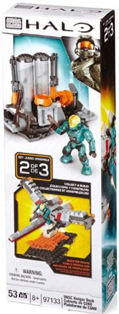 Mega Bloks Halo UNSC Hangar Deck Set #97133
