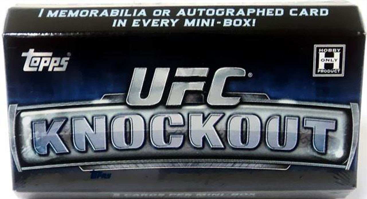 UFC 2013 Knockout Trading Card Pack