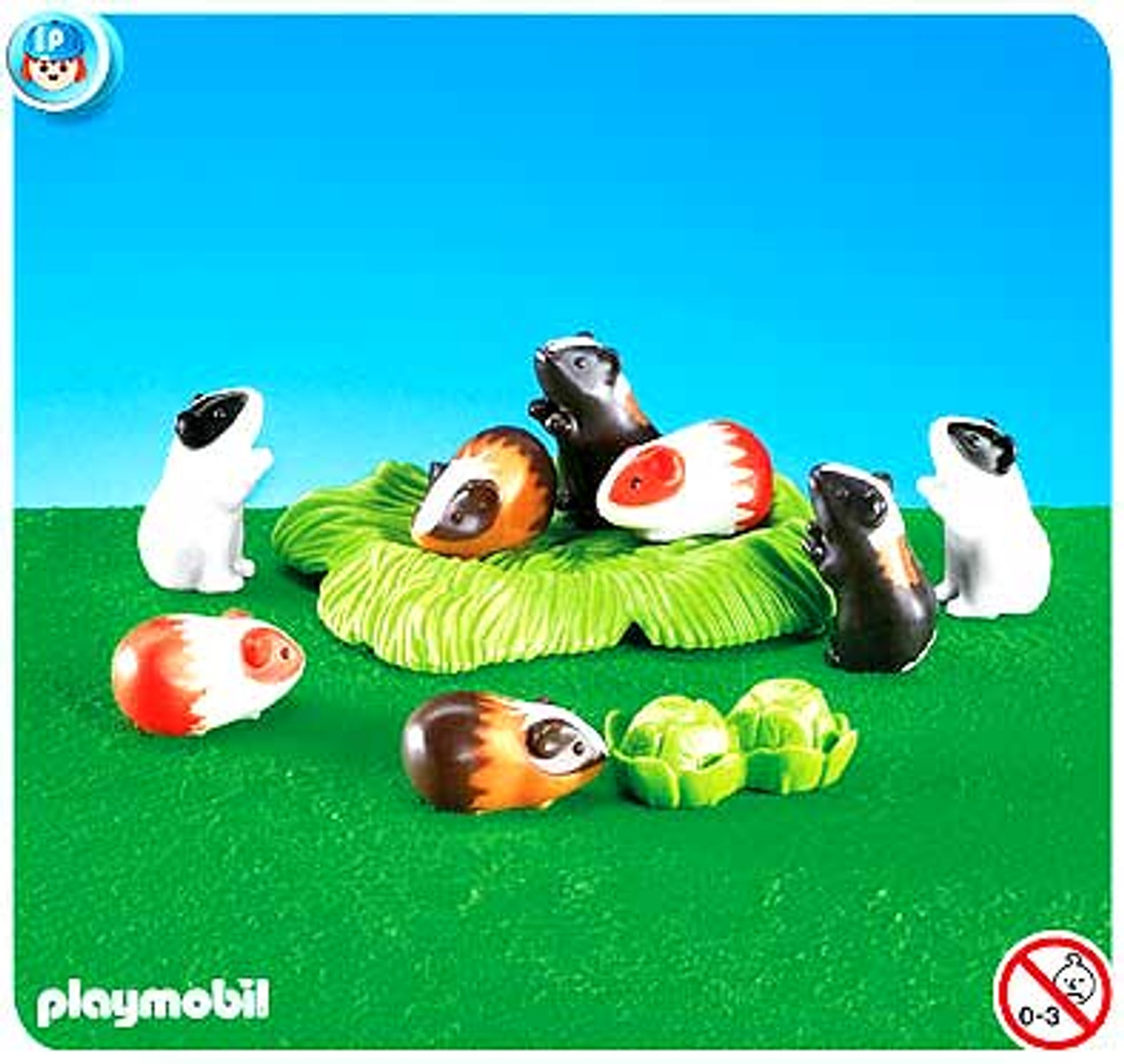 Playmobil Farm Guinea Pigs Set #7362