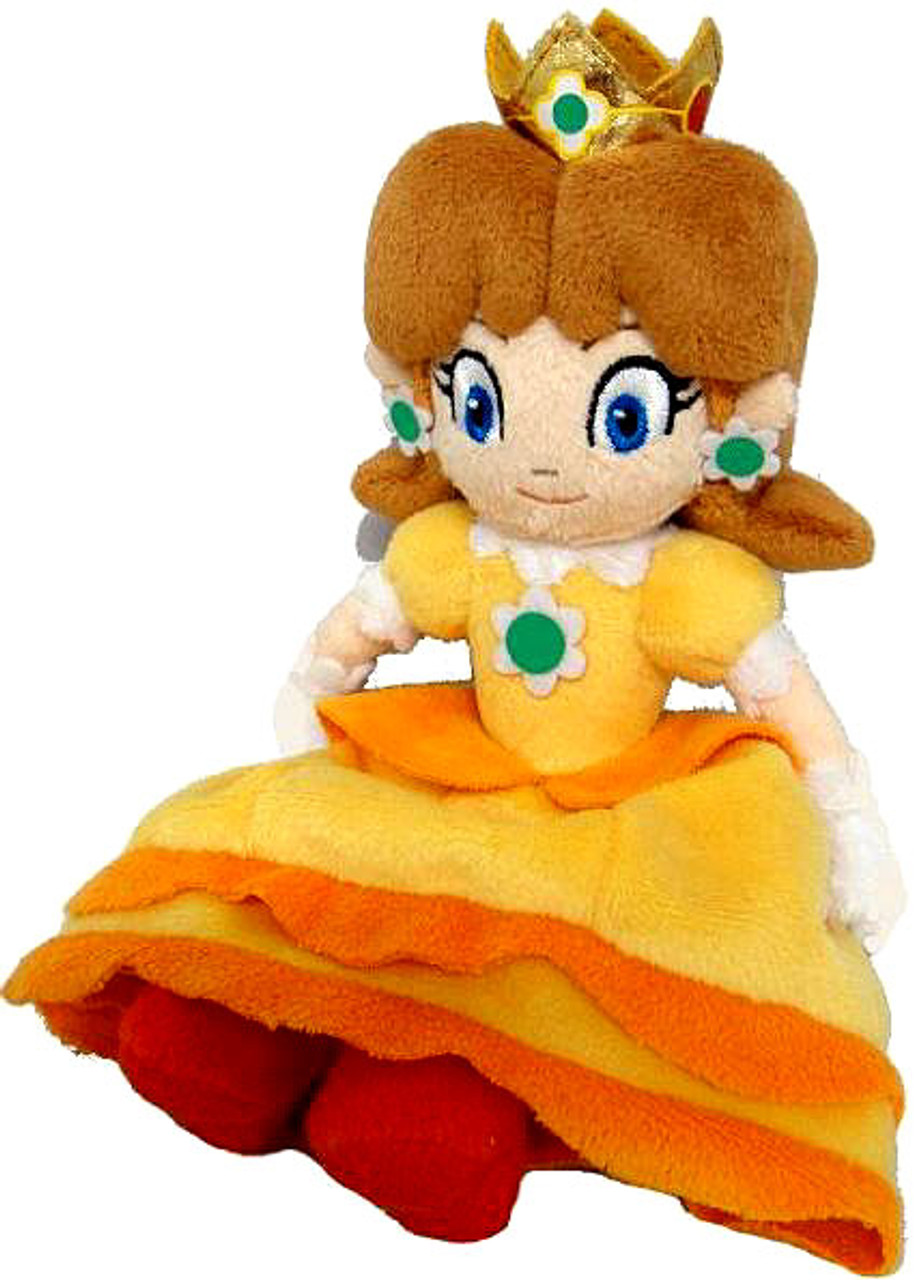 Super Mario Bros Princess Daisy 8-Inch Plush