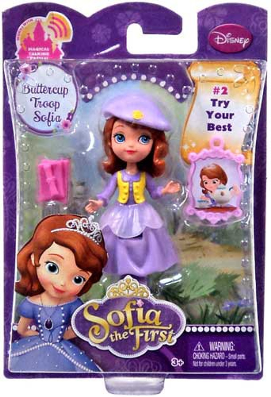 Disney Sofia the First Buttercup Troop Sofia 3-Inch Figure #2