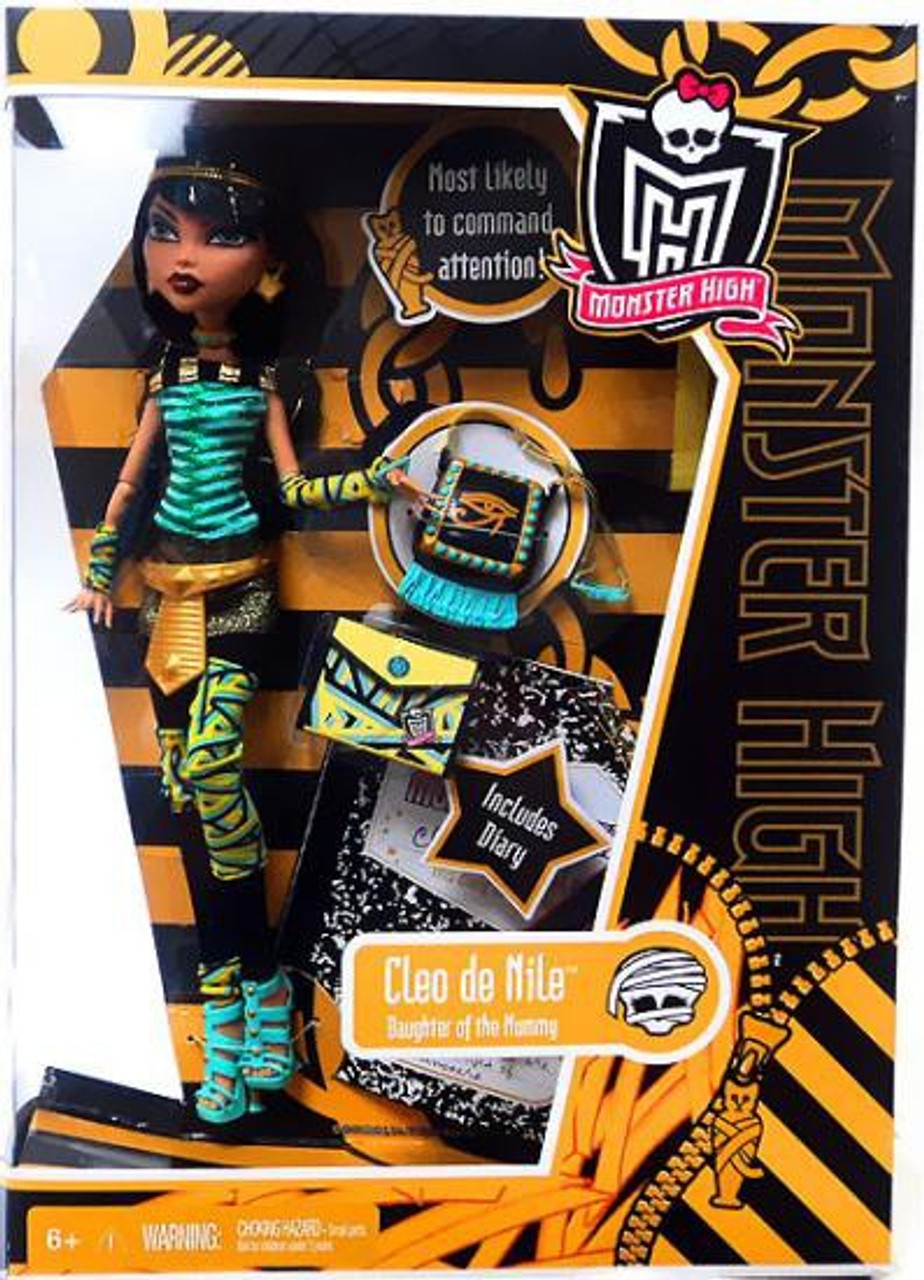 Monster High Cleo de Nile 10.5-Inch Doll