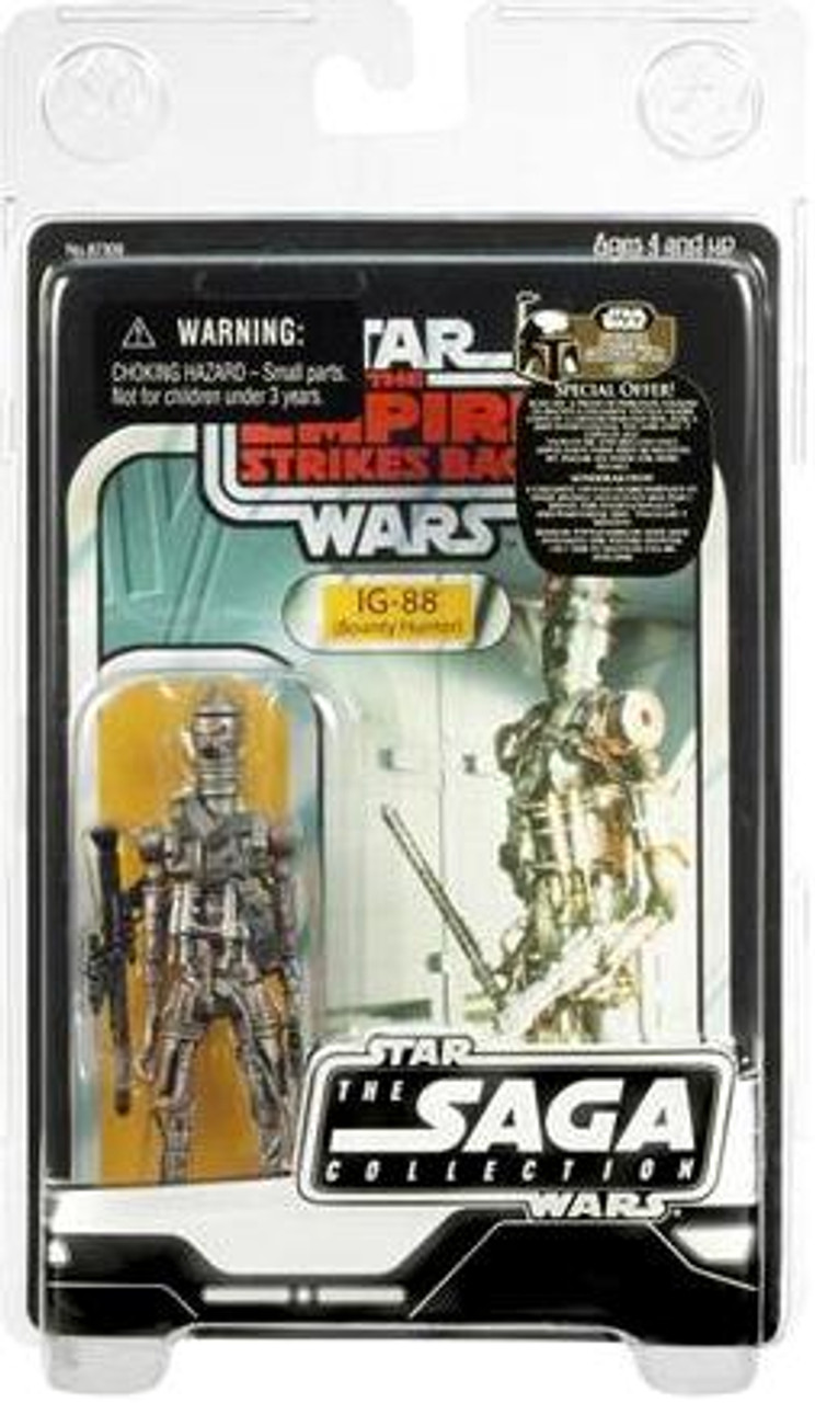 Star Wars Empire Strikes Back Saga Collection 2007 Vintage IG-88 Action Figure