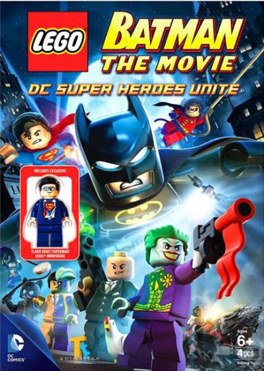 LEGO DC Universe Super Heroes Batman Movie: DC Super Heroes Unite DVD Exclusive Video