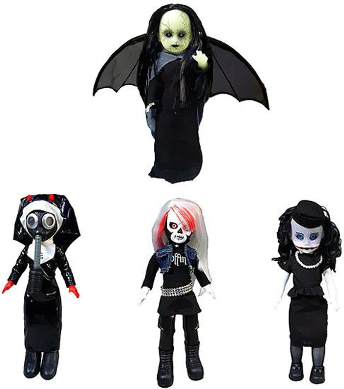 Living Dead Dolls Resurrection Series 7 Set of 4 Exclusive Dolls [Variant]