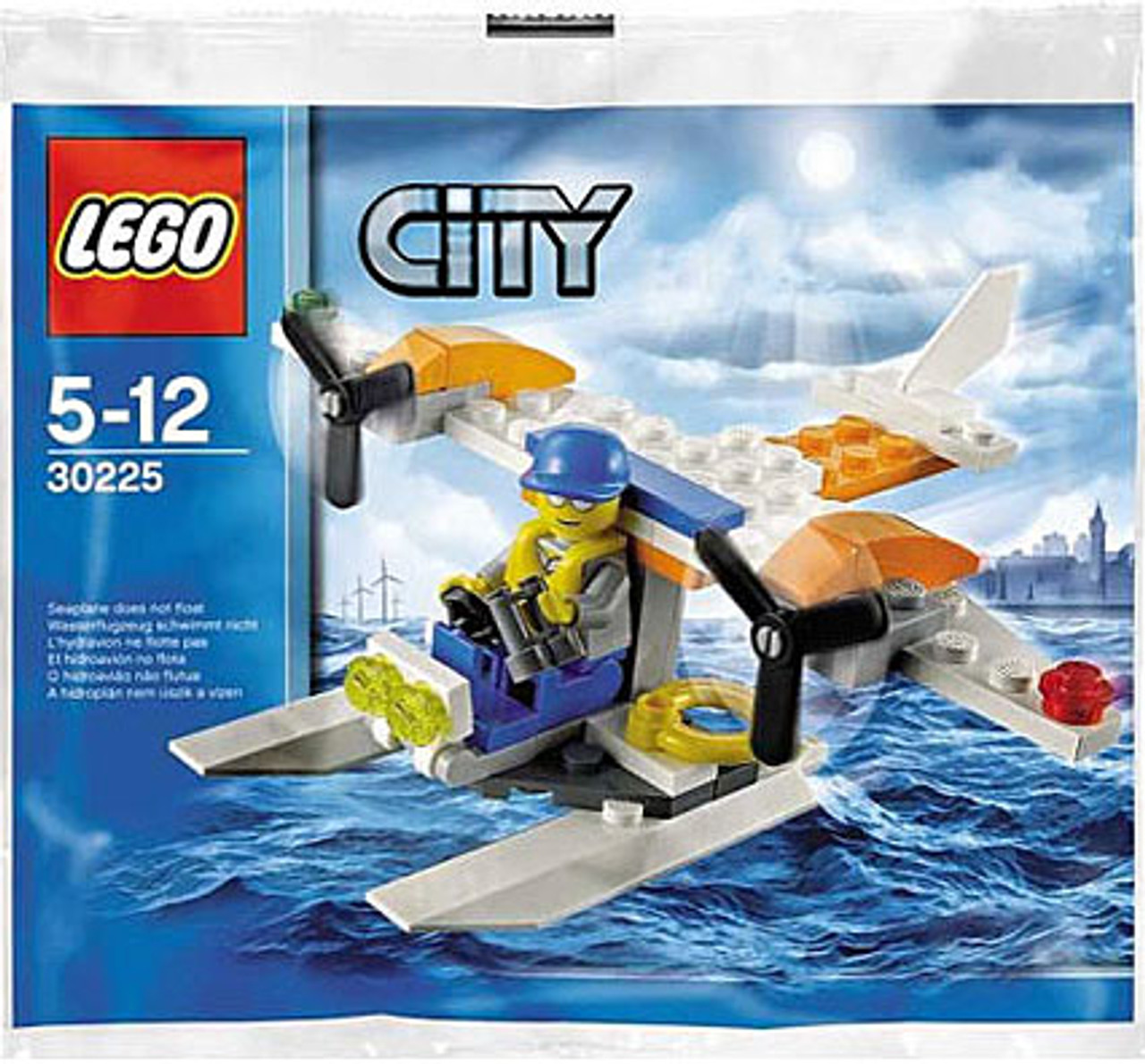 LEGO City Coast Guard Seaplane Mini Set #30225 [Bagged]