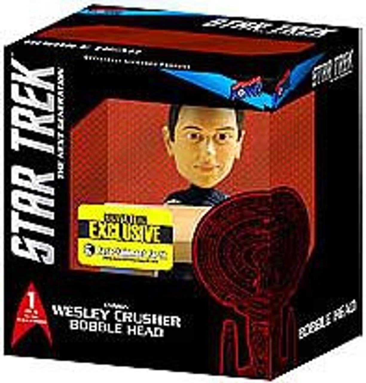Star Trek The Next Generation Build a Bridge Wesley Crusher Exclusive 7-Inch Bobble Head